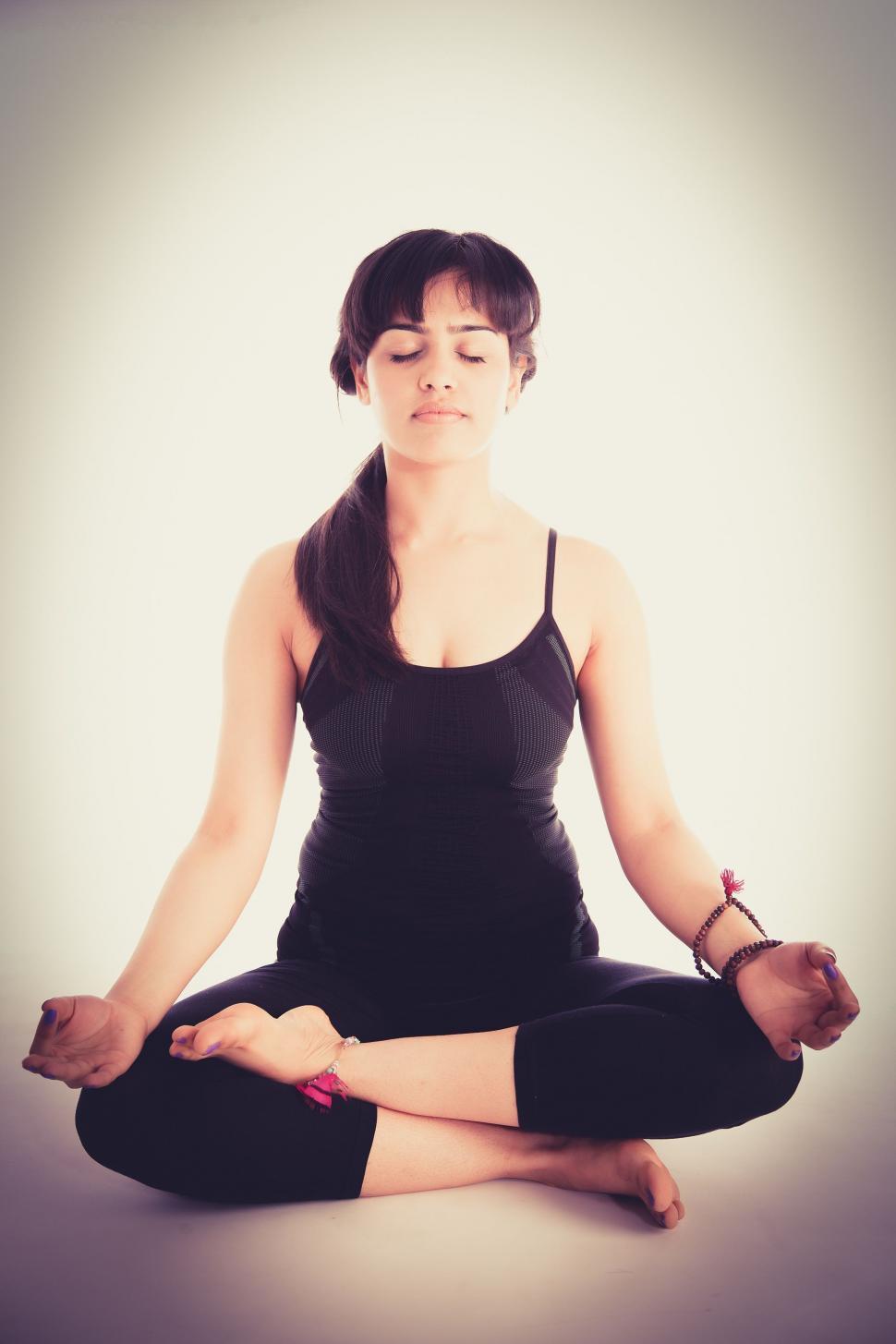 Download Free Stock Photo of Yoga Pose - Meditation