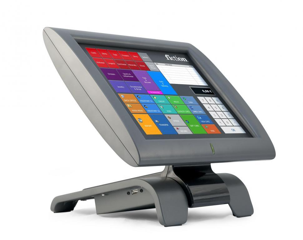 Download Free Stock HD Photo of POS Touch Screen Online