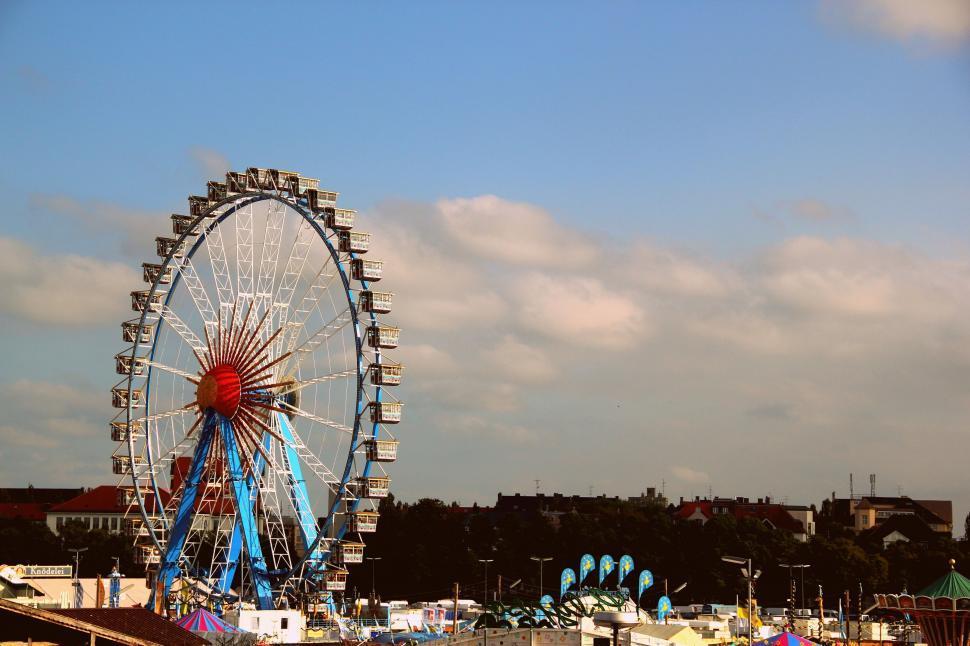 Download Free Stock Photo of Ferris Wheel