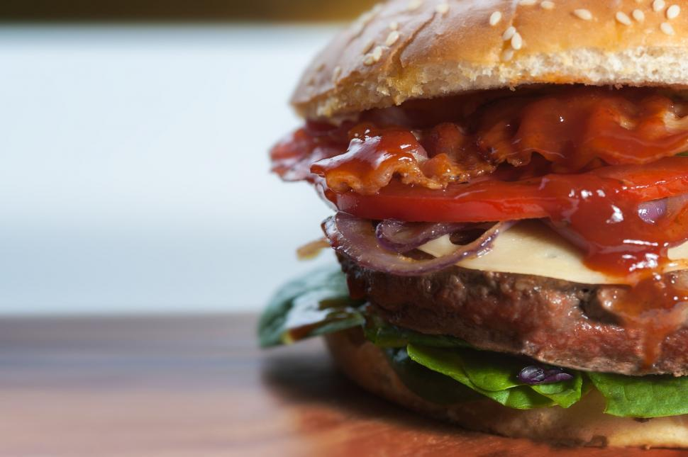 Download Free Stock HD Photo of Hamburger - Ready to eat  Online