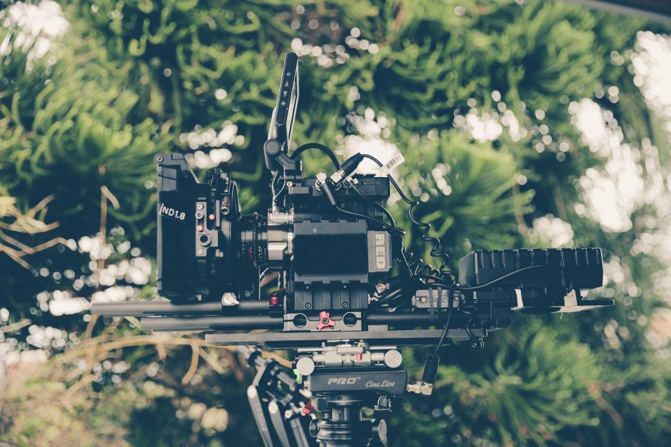 Download Free Stock Photo of Film Camera