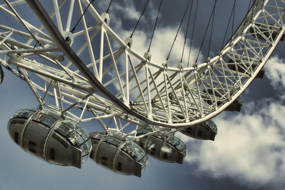 Download Free Stock Photo of The London Eye