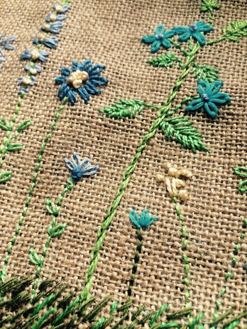 Download Free Stock Photo of Embroidery Designs