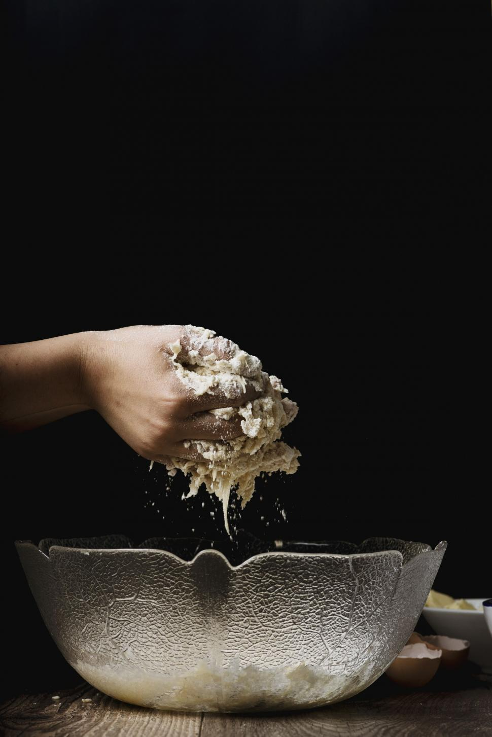 Download Free Stock HD Photo of Kneading dough Online