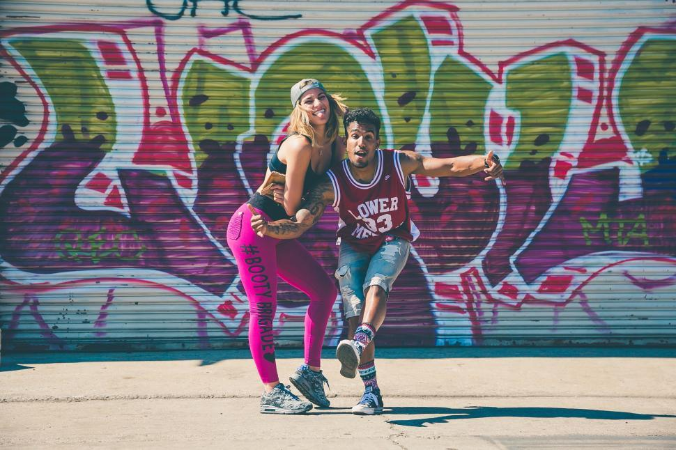 Download Free Stock Photo of Hip Hop Dancer - Man and Woman