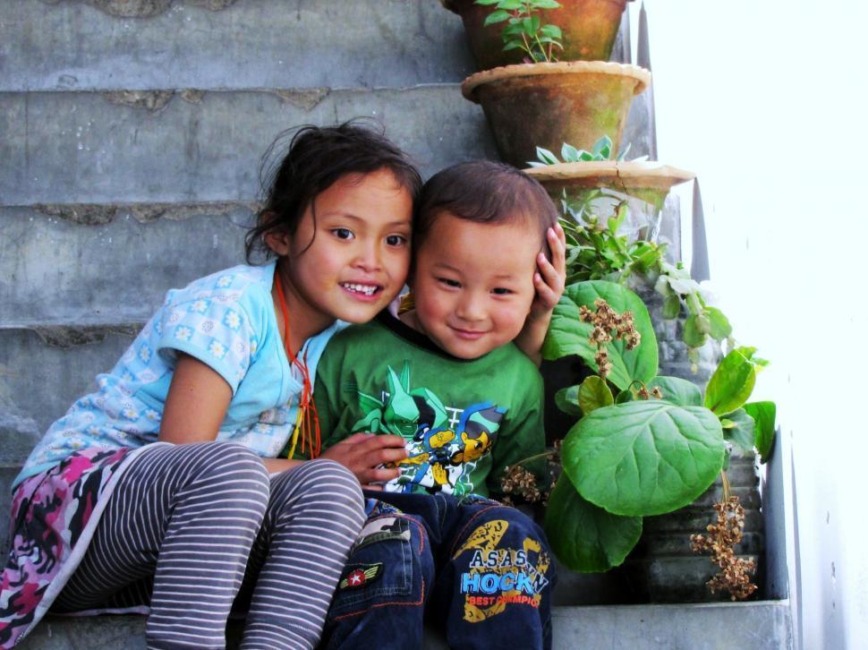 Download Free Stock HD Photo of Bhutanese Children Online