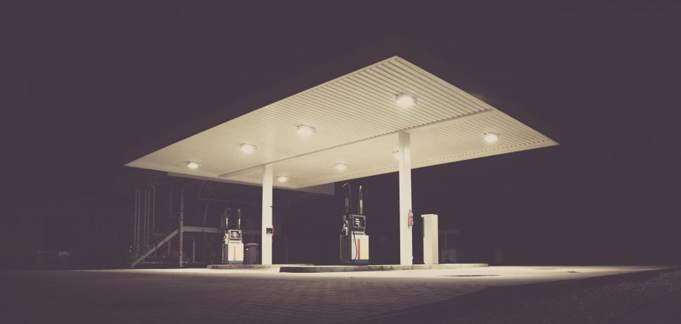Download Free Stock HD Photo of Gas Station  Online