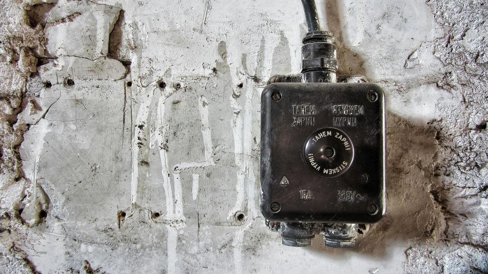 Download Free Stock Photo of Vintage Circuit breaker