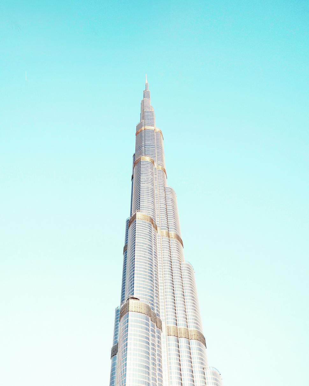 Download Free Stock Photo of Burj Khalifa Skyscraper in Dubai, United Arab Emirates