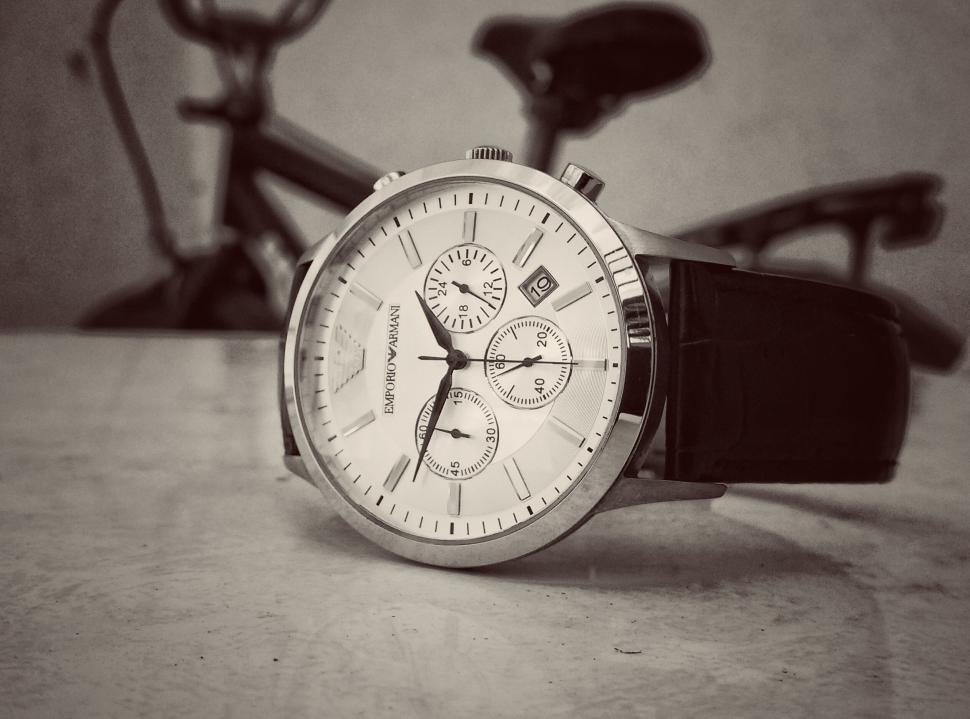 Download Free Stock HD Photo of Wristwatch - Monochrome  Online