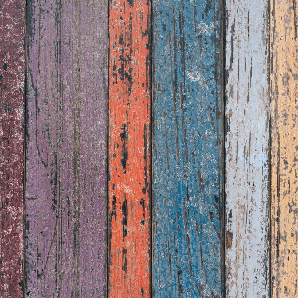Download Free Stock HD Photo of Multi-Colored Wood Planks  Online