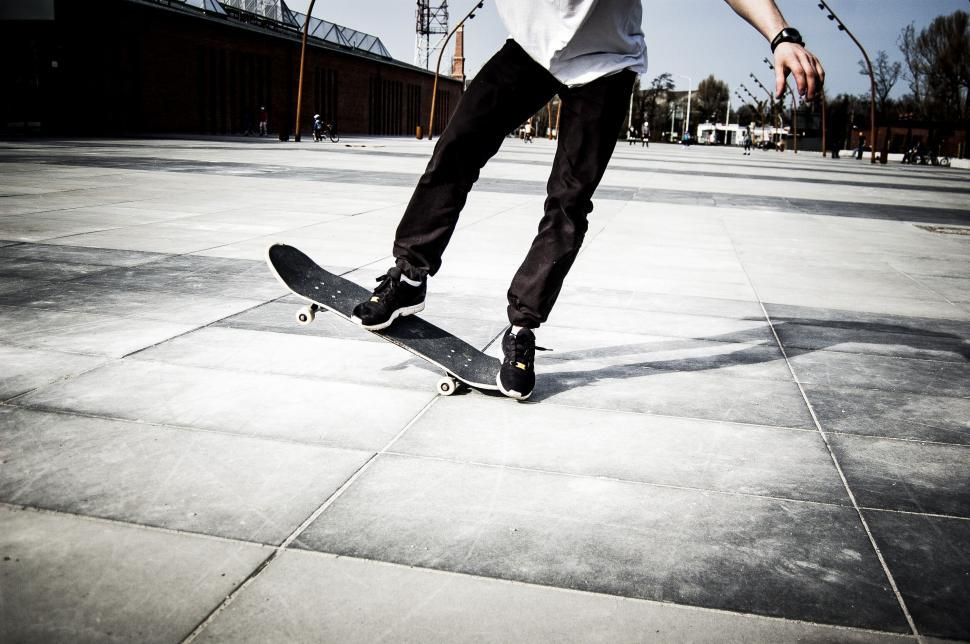 Download Free Stock Photo of Ollie Trick - Skateboard