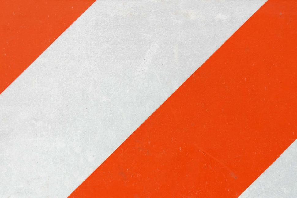 Download Free Stock HD Photo of Orange and white hazard background Online