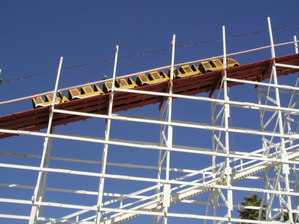 Download Free Stock Photo of Amusement Park