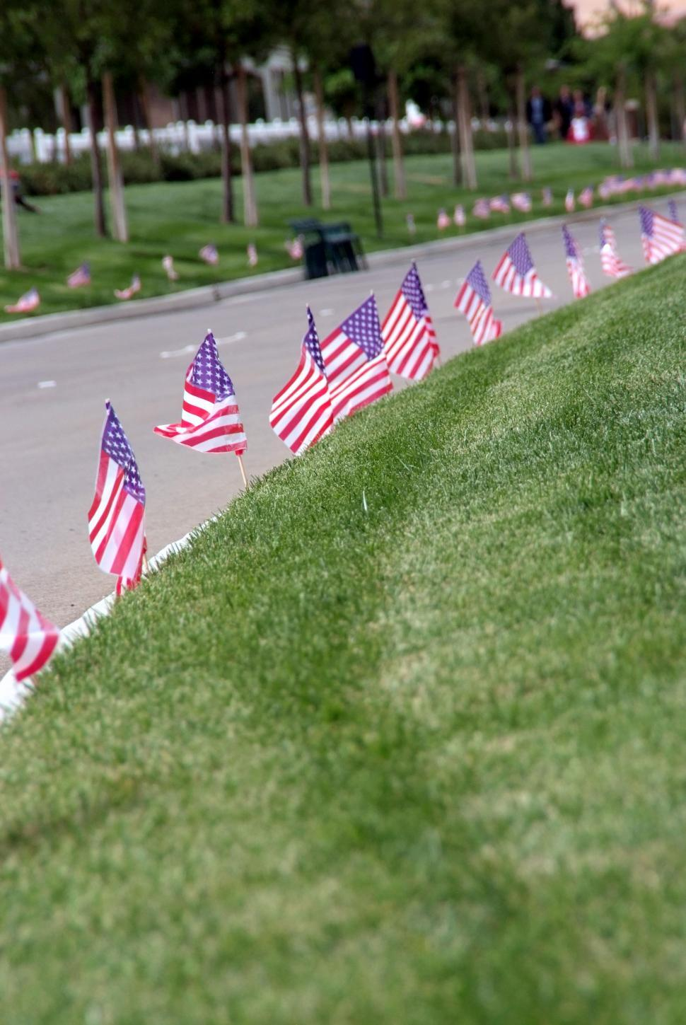 Download Free Stock Photo of American Flag