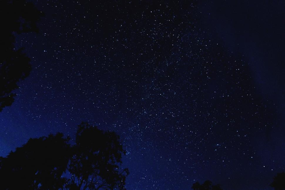 Download Free Stock Photo of Starry sky