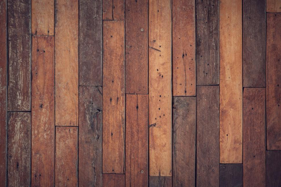Download Free Stock Photo of Wooden floor - background