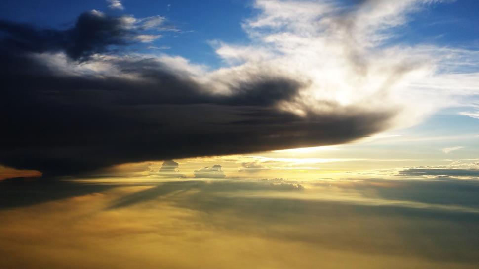 Download Free Stock Photo of Cloud formation