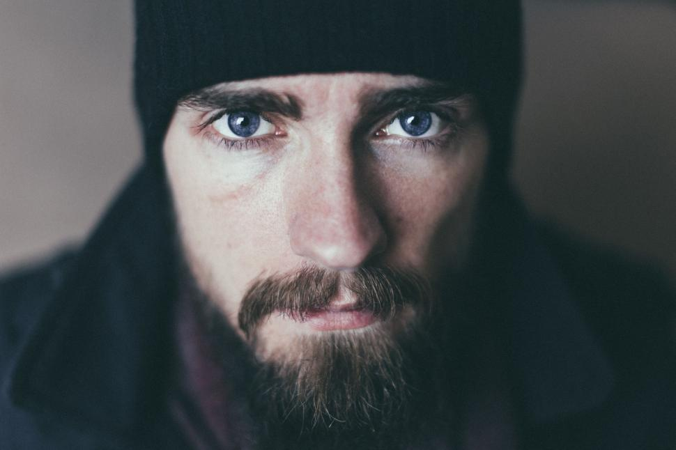 Download Free Stock Photo of Young Man with beard