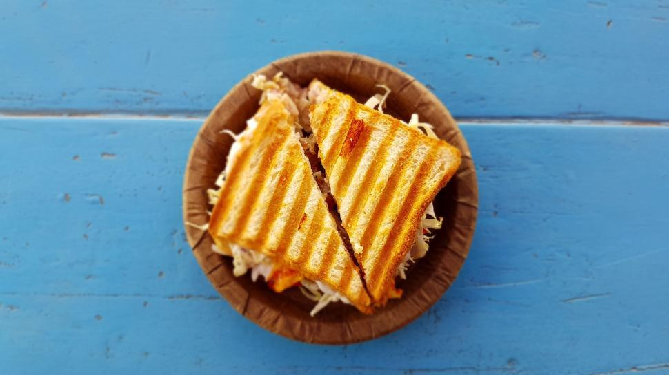 Download Free Stock Photo of Grill Sandwich