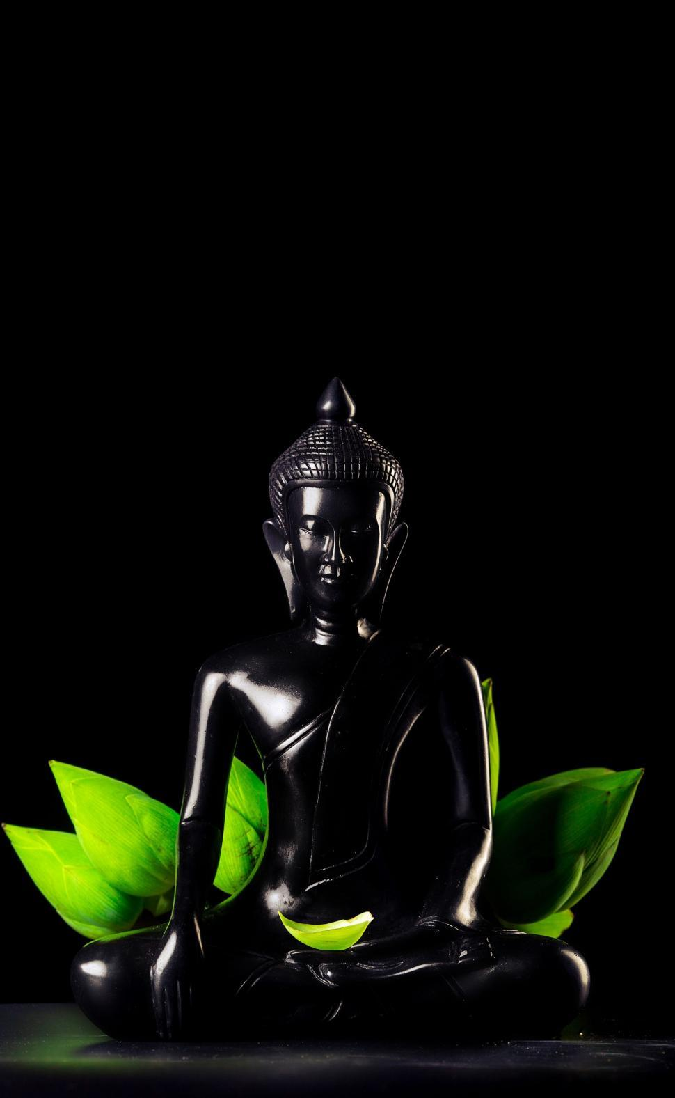 Download Free Stock Photo of Black Buddha