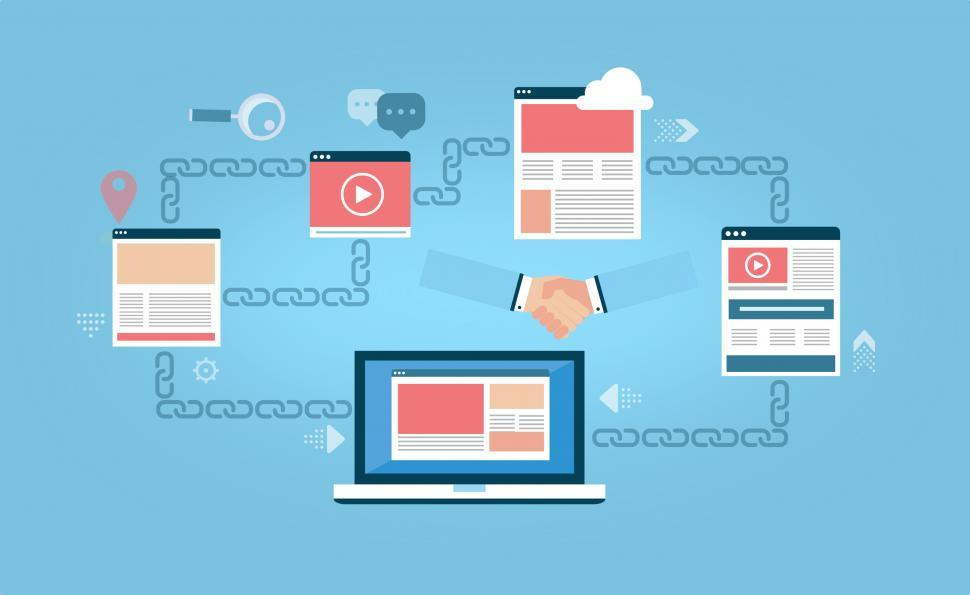 Download Free Stock Photo of Link Building - Backlinks - SEO