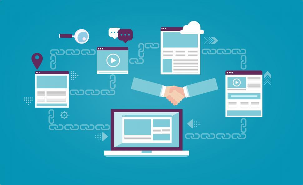 Download Free Stock Photo of Backlinks - Link Building - SEO