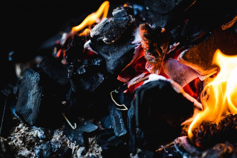 Download Free Stock HD Photo of Burning Firewood Online