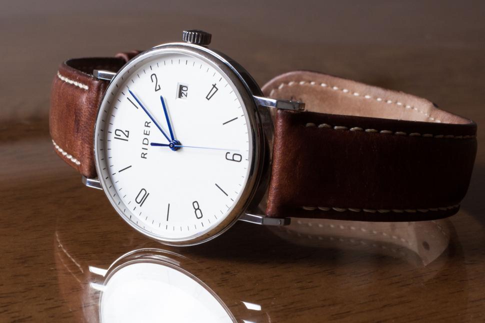 Download Free Stock Photo of Rider Wrist Watch