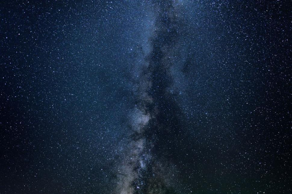 Download Free Stock Photo of Stars in Night Sky