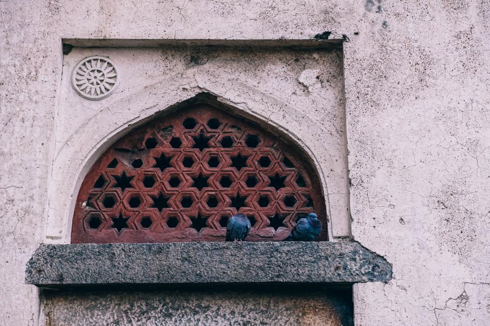 Download Free Stock Photo of Islamic Architecture Window (Jali)