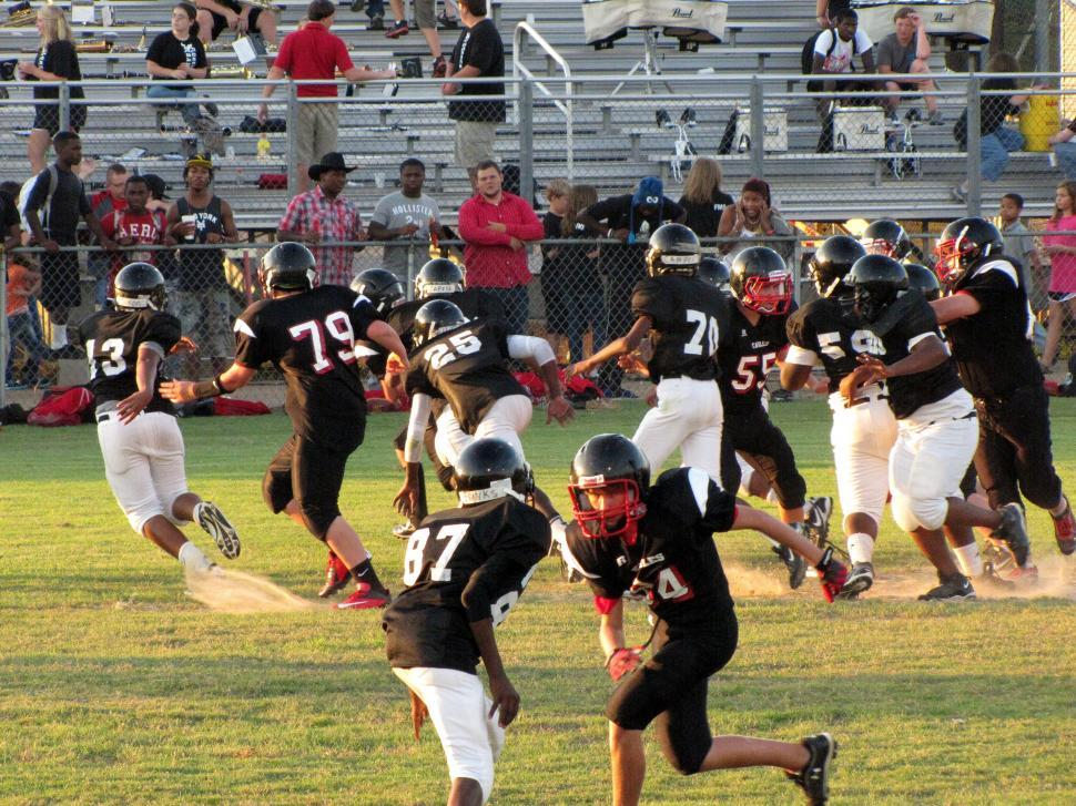 Download Free Stock Photo of American Football Match