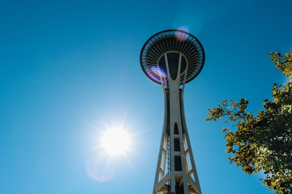 Download Free Stock Photo of Space Needle - Seattle, Washington