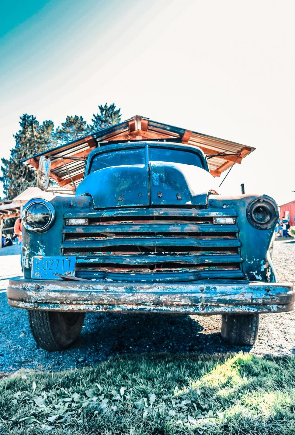 Download Free Stock Photo of Old Retro Car