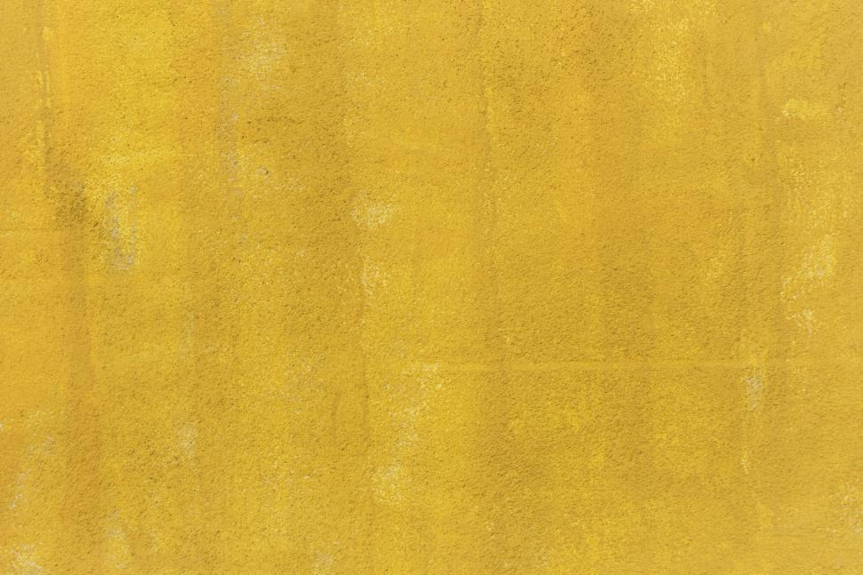 Download Free Stock Photo of Abstract yellow paint texture 2