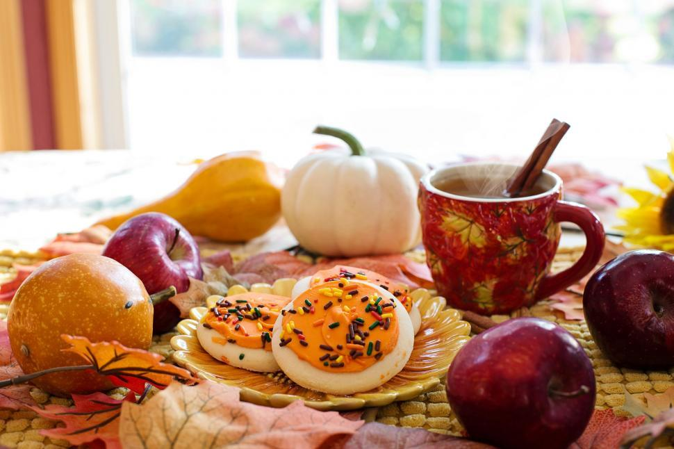 Download Free Stock Photo of Hot Apple cider