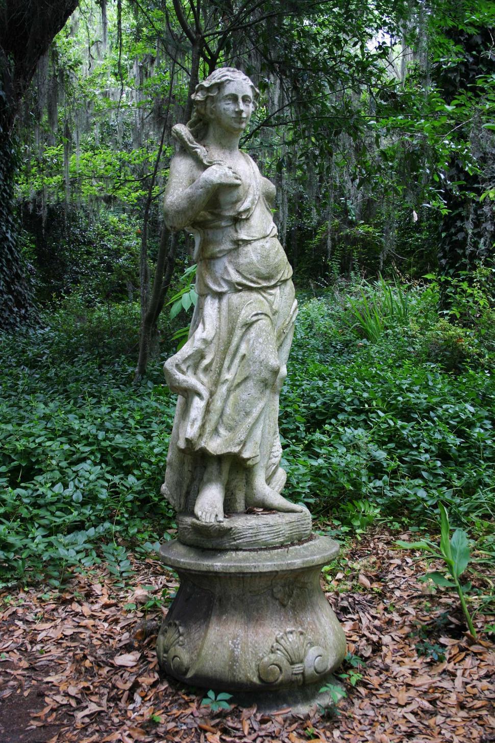 Download Free Stock HD Photo of female garden art Online