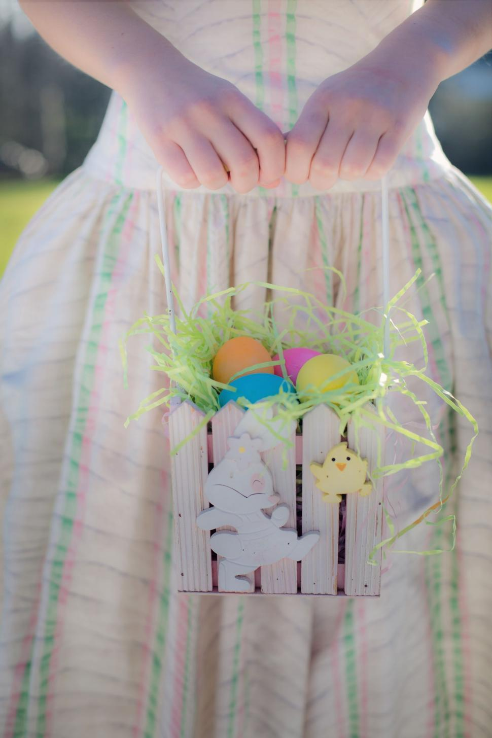 Download Free Stock Photo of Easter basket
