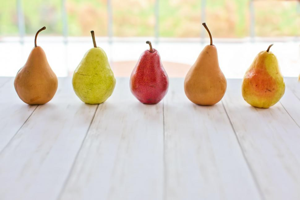 Download Free Stock Photo of Colorful Pears
