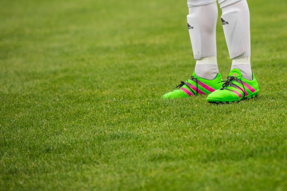 Download Free Stock Photo of Footballer Feet