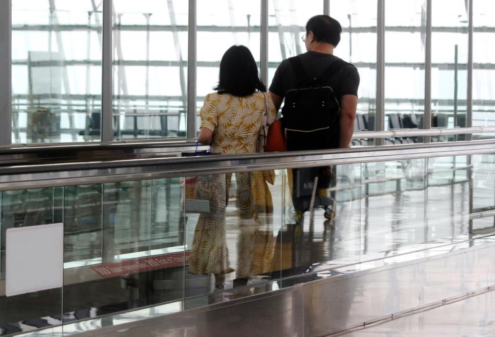 Download Free Stock HD Photo of Passengers at an Airport  Online