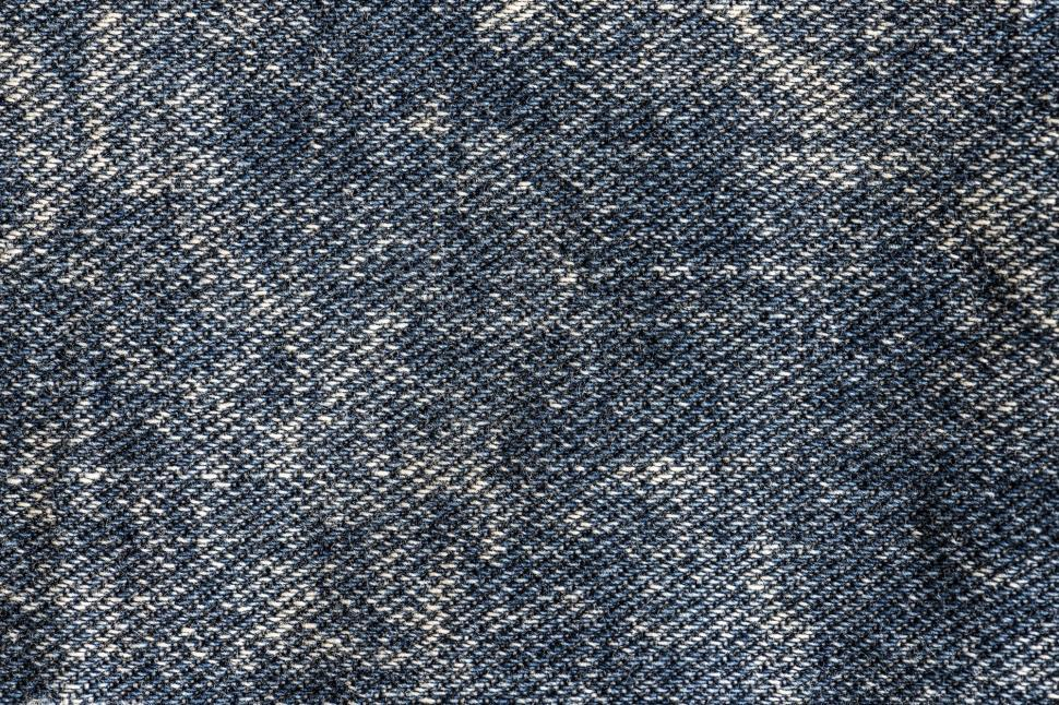 Download Free Stock Photo of Close up of denim canvas texture