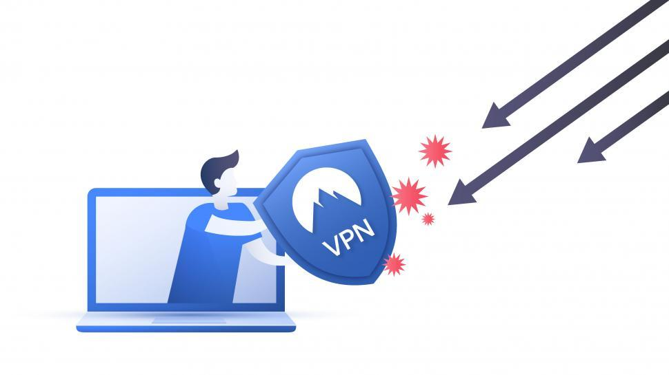 Download Free Stock HD Photo of Virtual Private Network shield scheme  Online