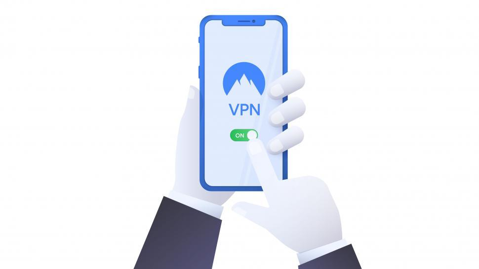 Download Free Stock HD Photo of Virtual private network  - Mobile Phone Online