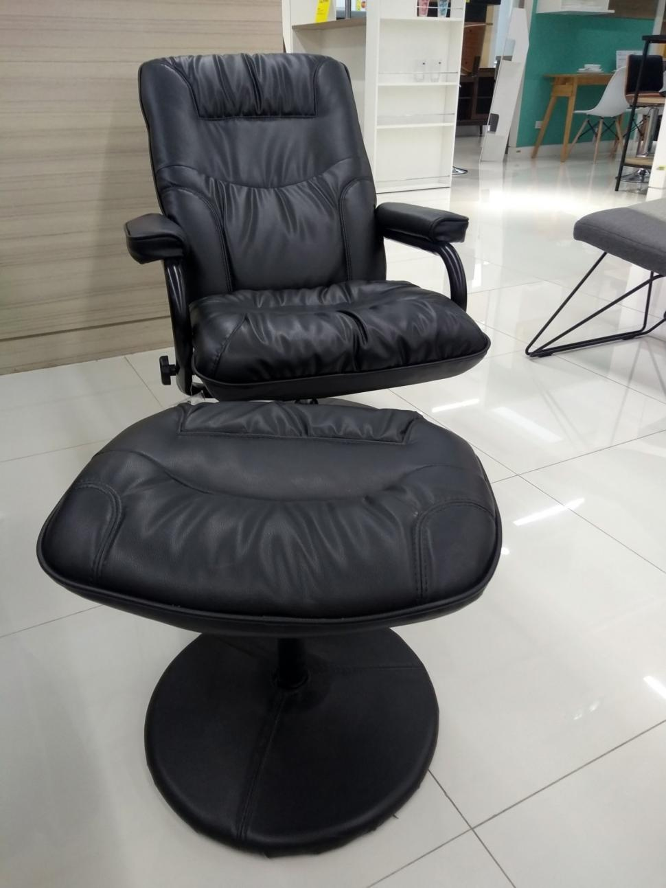 Download Free Stock HD Photo of Comfy black leather swivel chair  Online