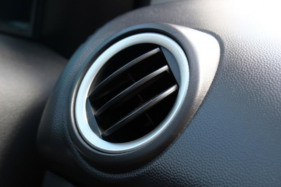 Download Free Stock Photo of Car dashboard air vent