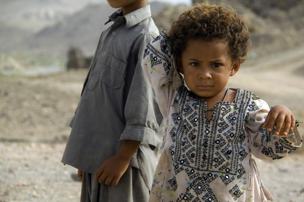 Download Free Stock Photo of Baluch children