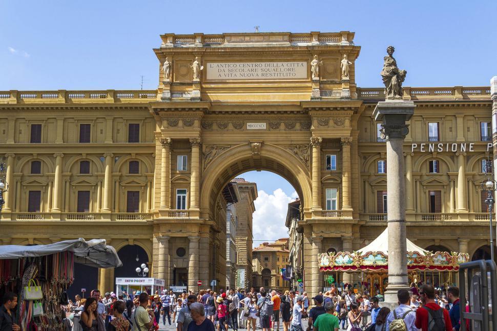 Download Free Stock HD Photo of Piazza Della Repubblica Online