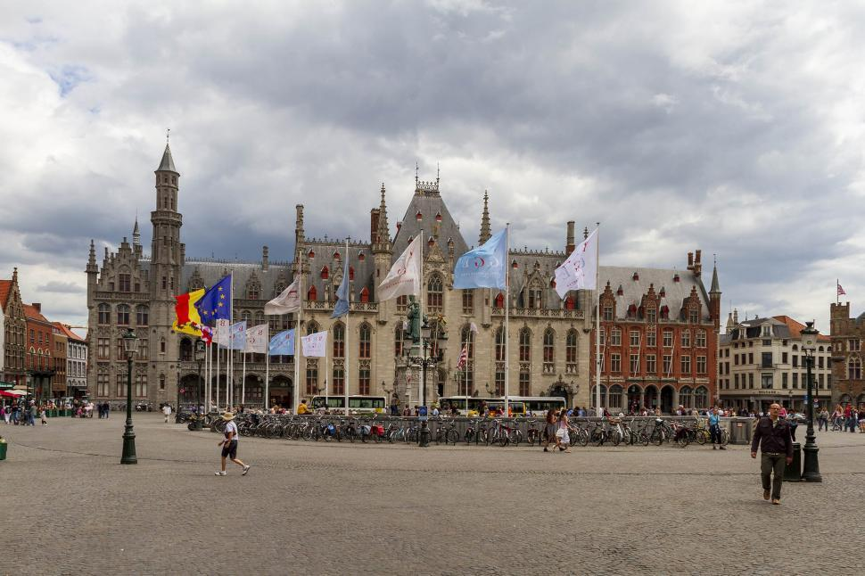 Download Free Stock HD Photo of Bruges city center Online