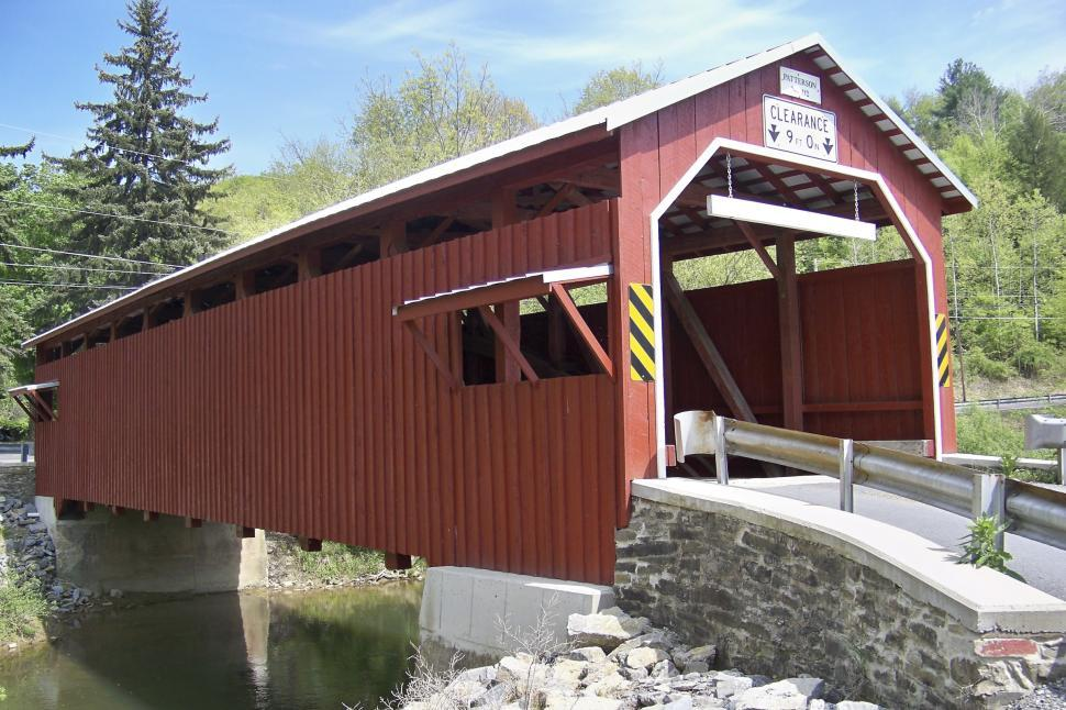 Download Free Stock HD Photo of Covered Bridge Online